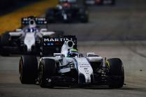 Singapore GP: 5th place for Massa