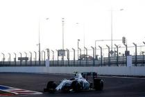 Russian GP: Williams Martini 1st & 3rd in rain affected FP2