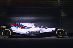 Williams Martini reveals FW40