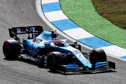 German GP: FP3 produces little for ROKiT Williams