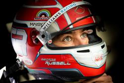 Williams Racing FW43B Silverstone shakedown