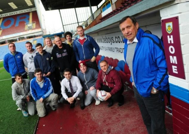 Charity Football Match Turf Moor 2014