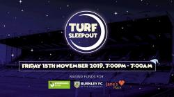 Turf Moor Sleep Out