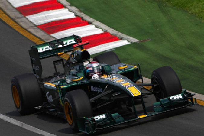 Totally Lotus F1 - Australian Grand Prix - Qualifying