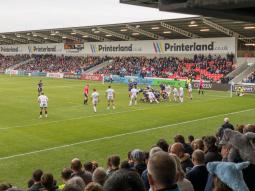 View from the south stand: Sale 46 Gloucester 41