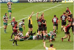 OUR FAVOURITE GAMES # 1 SARACENS v LEICESTER TIGERS 28.5.11
