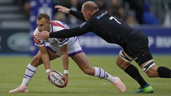 Short Rugby Saracen Gilbert Noir Gilbert