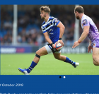 HOME THOUGHTS FROM ABROAD: FOLLOWING BATH'S LATE SEASON FORT