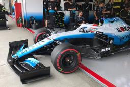 Japanese GP: FP1 sees ROKiT Williams evaluate new parts
