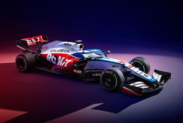 ROKiT Williams unveils 2020 challenger FW43.