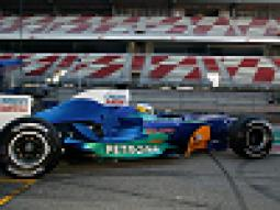 Last Test as Team SAUBER PETRONAS