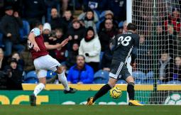 Burnley 2 Leicester City 1