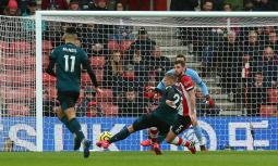 Southampton 1 Burnley 2
